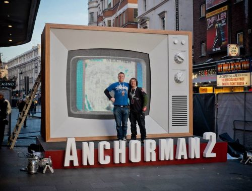 modelmakers for film anchorman 2