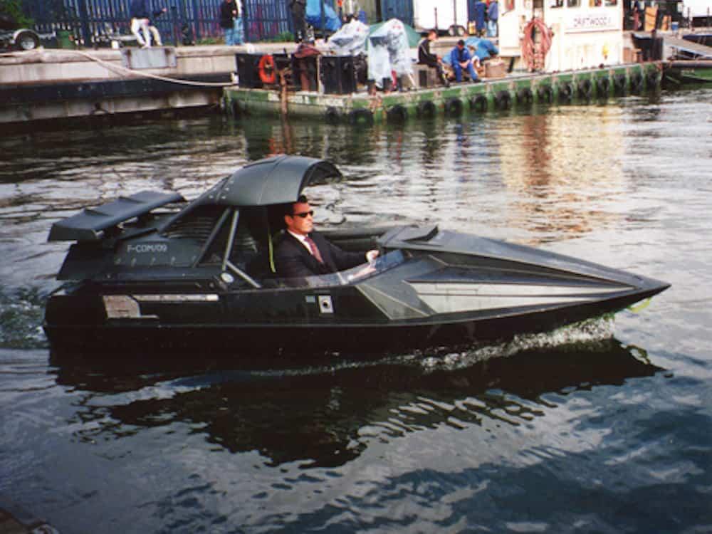 James Bond Q boat – Film Models