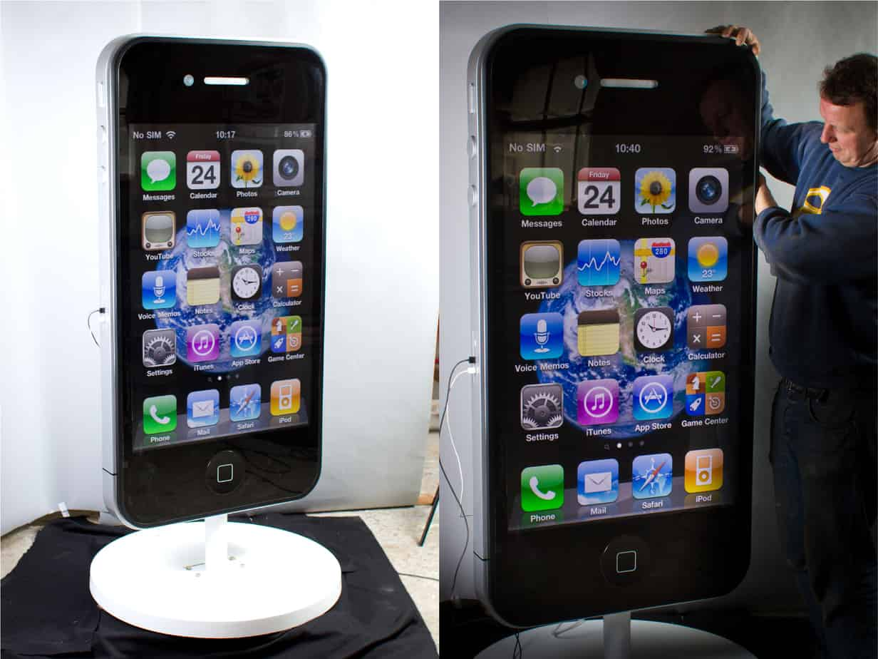 Large scale iPhone Model for exhibitions