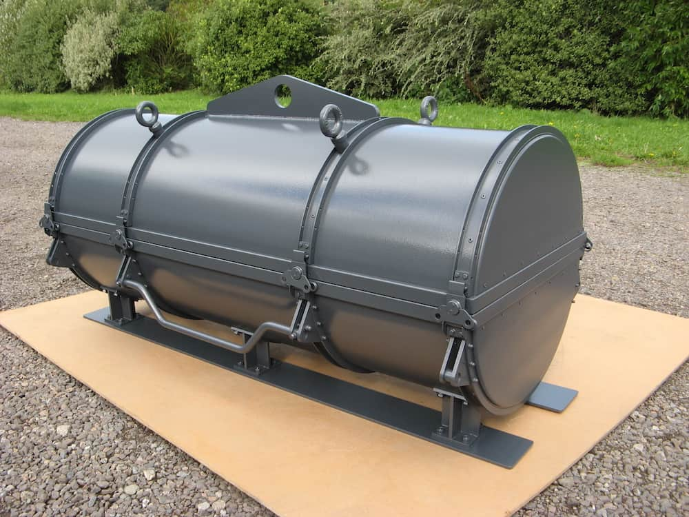 Bomb case prop for 'The Man from Uncle'