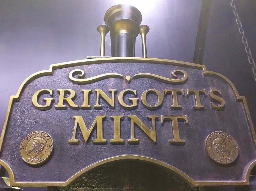 Gringotts Mint Coin Press